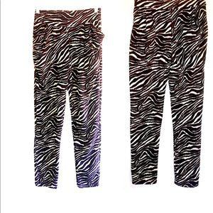 Zebra print - Harem like leggings